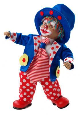 Купить Кукла Arias Клоун 38 см, винил, текстиль, Классические куклы и пупсы