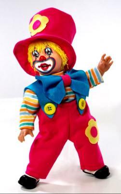 Кукла Arias Клоун 38 см
