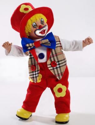 Кукла Arias Клоун 50 см кукла yako m6579 6