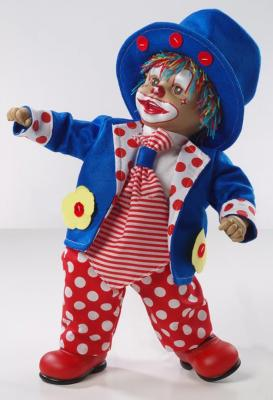 Купить Кукла Arias Клоун 50 см, винил, текстиль, пластик, Классические куклы и пупсы