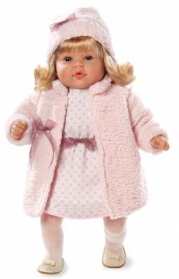 Кукла Arias Elegance в шубке 50 см смеющаяся arias кукла клоун 38 см т59774