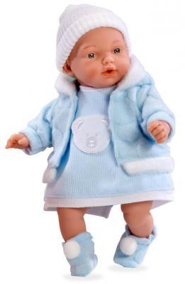 Купить Кукла Arias Elegance - Hanne в голубом костюме 28 см, винил, текстиль, Классические куклы и пупсы
