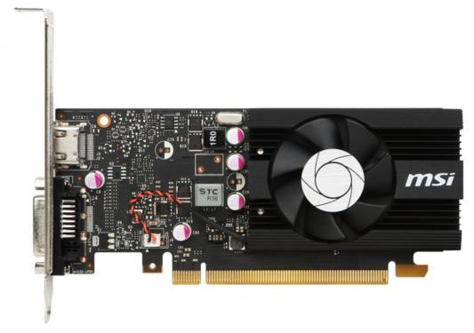 Видеокарта 2048Mb MSI GeForce GT1030 PCI-E GDDR5 64bit HDMI HDCP GT 1030 2G LP OC V1 Retail
