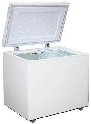 Морозильный ларь Бирюса Б-260VK белый