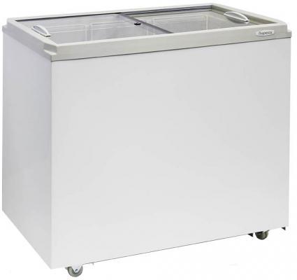 Морозильный ларь Бирюса Б-260VZ белый морозильный ларь бирюса 200vz