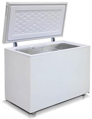 Морозильный ларь Бирюса Б-355VK белый морозильный ларь бирюса 200vz