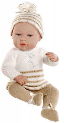 Купить Пупс Arias Elegance в костюмчике с аппликацией Аист из страз Swarowski 42 см, винил, текстиль, Классические куклы и пупсы
