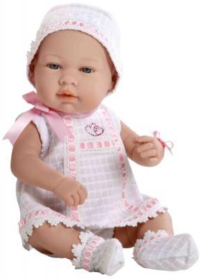 Купить Пупс Arias Elegance со стразами Swarovski в виде сердечек 42 см, винил, текстиль, Классические куклы и пупсы
