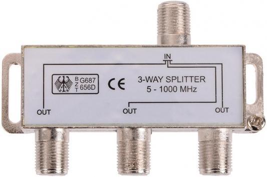 Разветвитель антенный 1 на 3 направления 1 МГц Belsis SP3067