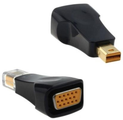 Переходник Orient C314 Mini DisplayPort - VGA черный 30314