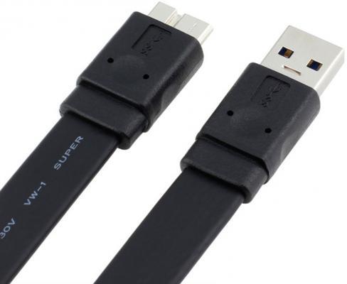 Кабель USB 3.0 AM-microBM 1.8м ORIENT MU-318F 30359 кабель usb 2 0 am microbm 0 5м orico adc 05 белый