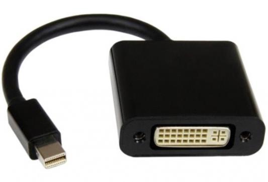 Переходник Orient C303 Mini DisplayPort - DVI черный 30303 адаптер orient c303 mini displayport m dvi f длина 0 2 метра черный