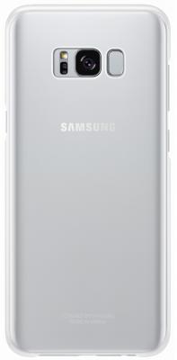 Чехол Samsung EF-QG955CSEGRU для Samsung Galaxy S8+ Clear Cover серебристый/прозрачный