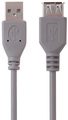 Кабель удлинительный USB 2.0 AM-AF 3м Belsis без ф/фильтра BW1409 цена