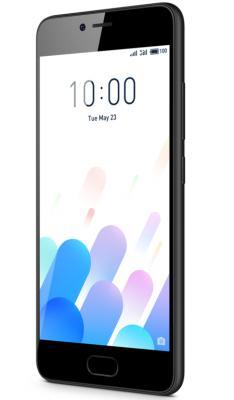 "Смартфон Meizu M5c черный 5"" 16 Гб LTE Wi-Fi GPS 3G MZU-M710H-16-BK"