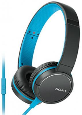 Наушники SONY MDR-ZX660 синий черный вспышка sony hvl f20m черный