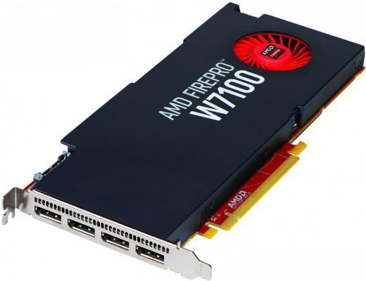 Видеокарта DELL W7100 490-BCLL PCI-E 8192Mb 256 Bit Retail pci e to