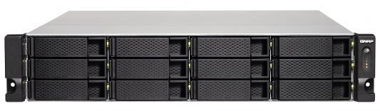 Сетевое хранилище QNAP TS-1231XU-RP-4G рэковое сетевое хранилище rack nas qnap ts 463u rp 4g ts 463u rp 4g
