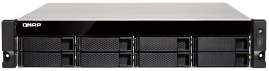 Сетевое хранилище QNAP TS-831XU-RP-4G модуль памяти qnap ram 4gdr3 ld 1600 4gb ddr3 для ts x79u rp ts x70u rp
