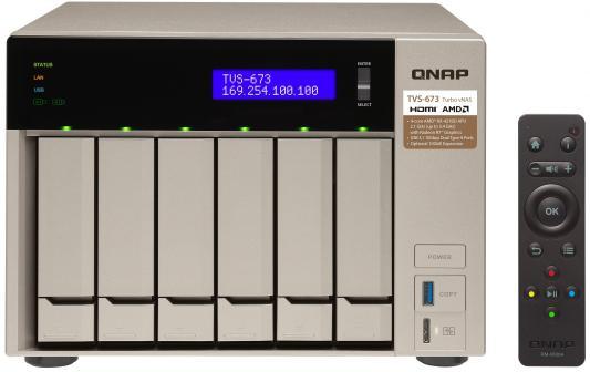 Сетевое хранилище QNAP TVS-673-8G