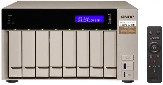 Сетевое хранилище QNAP TVS-873-8G