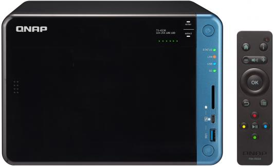 Сетевое хранилище QNAP TS-653B-8G рэковое сетевое хранилище rack nas qnap ts 531x 8g ts 531x 8g