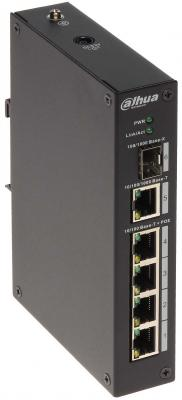 Картинка для Коммутатор Dahua DH-PFS3106-4P-60 4 порта PoE