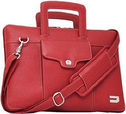купить Сумка для ноутбука MacBook Pro 15 Urbano Compact Brief кожа красный UZRB2016-15-04 онлайн