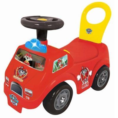 Каталка-пушкар Kiddieland Щенячий патруль пожарная машина Маршалл спасатель красный от 1 года пластик kiddieland радиоуправляемая машинка kiddieland пожарная машина