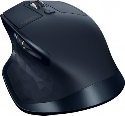 все цены на  Мышь беспроводная Logitech MX Master синий USB + Bluetooth 910-004957  онлайн