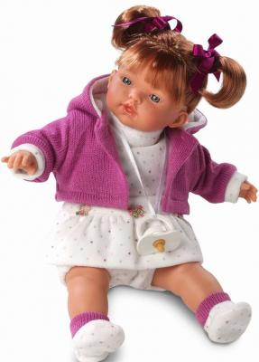 Кукла Llorens Алиса 33 см со звуком куклы и одежда для кукол llorens кукла изабела 33 см со звуком