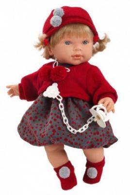 Кукла Llorens Анна 42 см llorens кукла лаура 45 см llorens