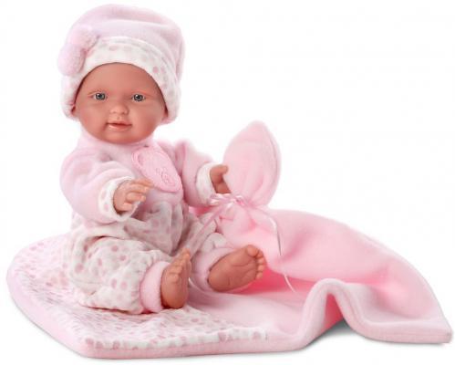 Кукла Llorens Бэбита Роза с одеялом 26 см