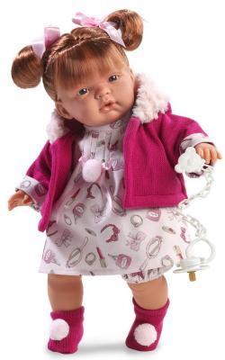 Кукла Llorens Жоэль 38 см со звуком llorens кукла жоэль 38 см llorens