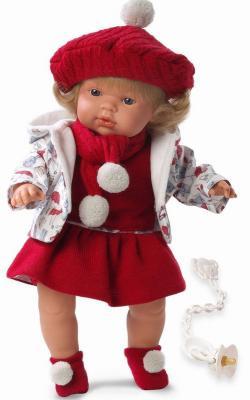 Кукла Llorens Клавдия (38536) 38 см со звуком куклы и одежда для кукол llorens кукла алиса 33 см со звуком
