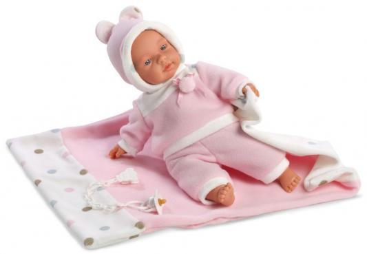 Кукла Llorens Люсия с одеялом (33403) 33 см
