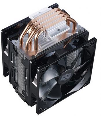 Кулер для процессора Cooler Master CPU Cooler Hyper 212 Turbo Red LED Socket 2066/2011-3/2011/1366/1156/1155/1151/1150/775 RR-212TR-16PR-R1 от 123.ru