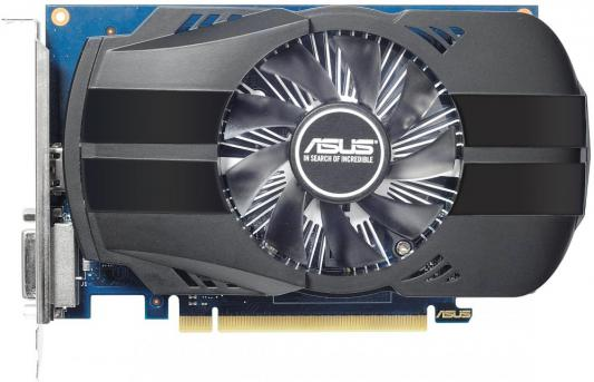 Видеокарта 2048Mb Asus GeForce GT1030 PCI-E GDDR5 64bit HDMI DVI HDCP PH-GT1030-O2G Retail asus asus vp228h 21 5 черный dvi hdmi full hd