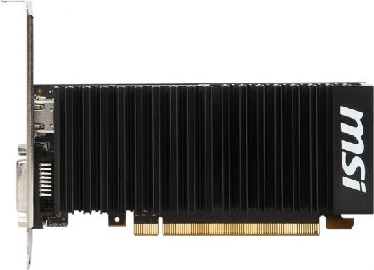 Видеокарта 2048Mb MSI GeForce GT1030 PCI-E GDDR5 64bit HDMI GT 1030 2GH LP OCV1 Retail