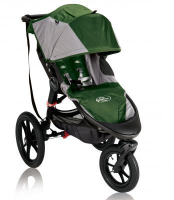 Прогулочная коляска Baby Jogger Summit X3 (зелено-серый) baby jogger summit x3