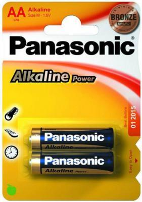 Батарейки Panasonic Alkaline Power LR6APB/2BP AA 2 шт