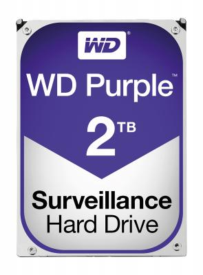 "Жесткий диск 3.5"" 2 Tb 6400rpm 64Mb cache Western Digital Purple SATAIII WD20PURZ"