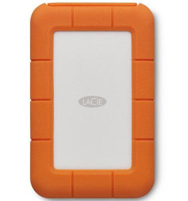 Внешний жесткий диск 2.5 Thunderbolt USB C 5Tb Lacie Rugged STFS5000800 оранжевый 3 5 usb3 0 4tb lacie porsche p9233 9000385