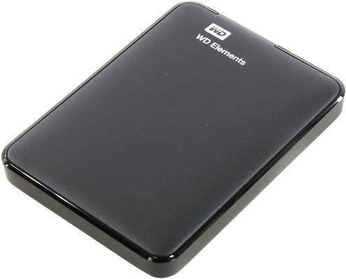 Фото - Внешний жесткий диск 2.5 USB3.0 1 Tb Western Digital Elements Portable WDBUZG0010BBK-WESN черный внешний hdd wd elements portable 1tb black wdbuzg0010bbk wesn