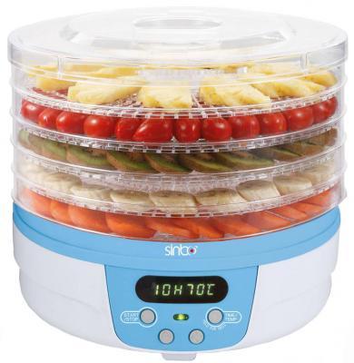 Сушилка для овощей и фруктов Sinbo SFD 7403 синий прозрачный