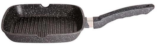Сковорода-гриль Supra Katai SAD-K2424G прямоугольная ручка несъемная (без крышки) темно-серый сковорода supra katai saf s244f 24см без крышки серый [9623]