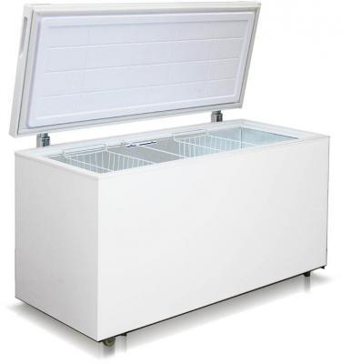 Морозильный ларь Бирюса 455VK белый морозильный ларь whirlpool whm 3111 белый