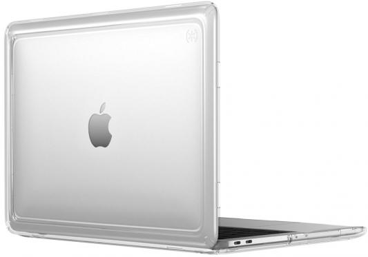 Чехол-накладка для ноутбука MacBook Pro 13 Speck Presidio Clear пластик прозрачный 91219-5085 аксессуар чехол macbook pro 13 speck seethru pink spk a2729