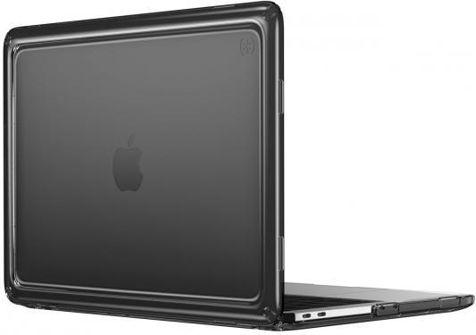 Чехол-накладка для ноутбука MacBook Pro 13 Speck Presidio Clear пластик черный 91219-5446 аксессуар чехол 13 0 speck presidio clear для apple macbook pro 13 transparent 91219 5085