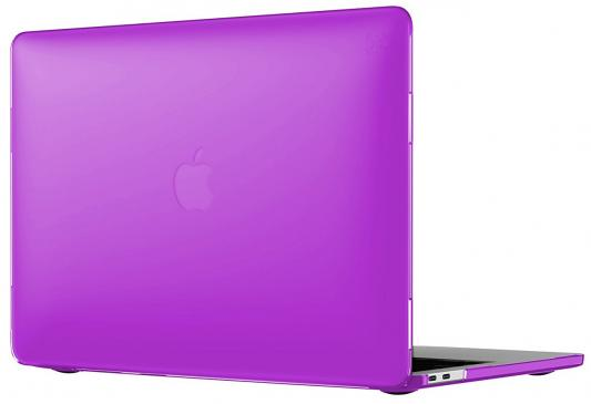 "все цены на Чехол-накладка для ноутбука MacBook Pro 15"" Speck SmartShell с Touch Bar поликарбонат фиолетовый онлайн"